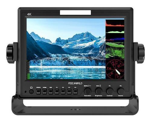 FEELWORLD Z73 7 Inch 1280x800 SDI/ 4K HDMI DSLR Field On-camera Monitor with Scopes Rugged Aluminum Housing