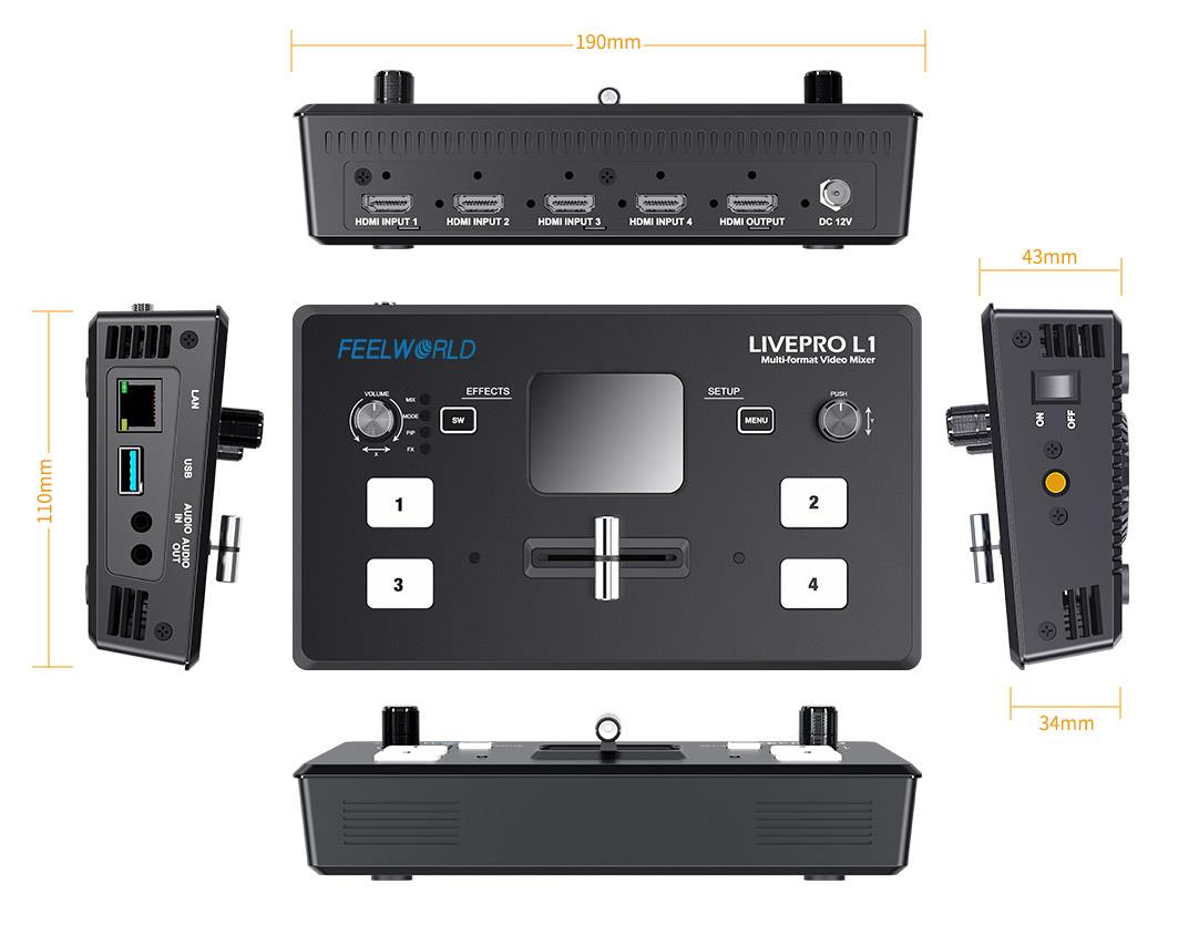 hdmi video mixer